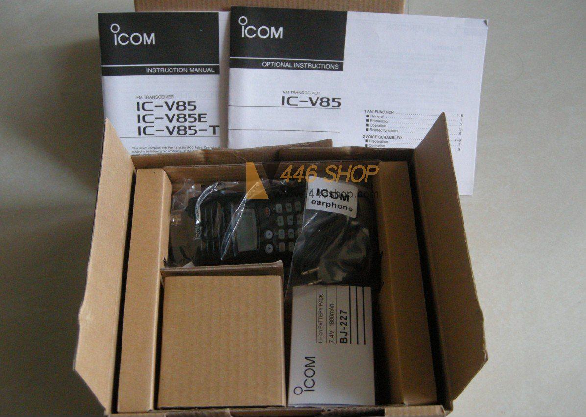 ICOM ICOM IC-V85 VHF 136-174MHz Handy Radio DTMF FM Transceiver