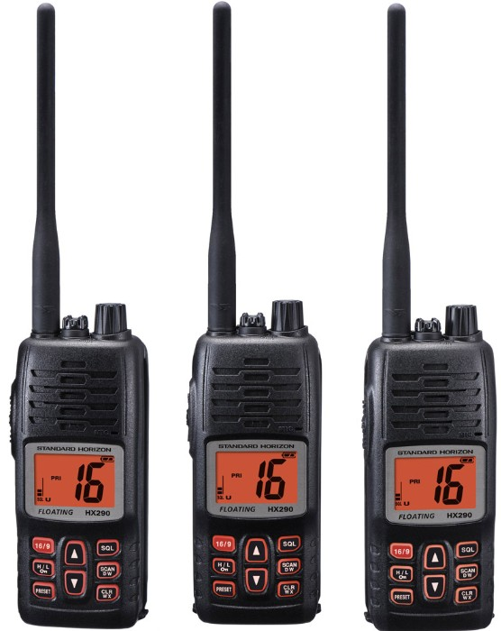 standard horizon hx290 portable vhf radio noaa weather channels and weather alert brand of radio. Black Bedroom Furniture Sets. Home Design Ideas