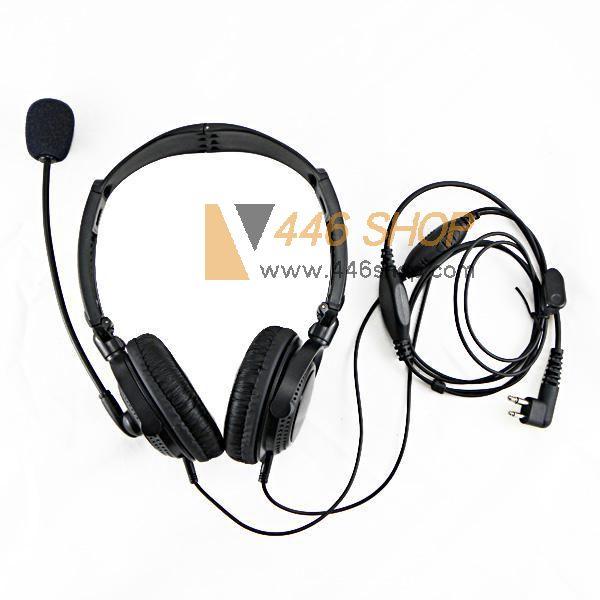 Motorola Heavy Duty Anti Noise Headset Ptt Earpiece With Microphone