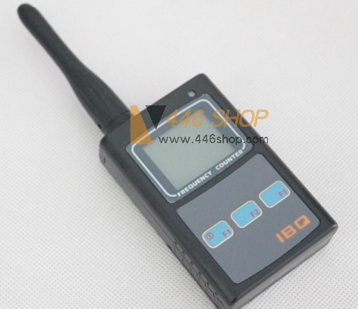 Sound Frequency Counter Handheld : Handheld frequency counter ibq sensitive