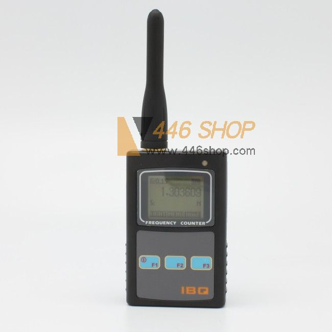 Sound Frequency Counter Handheld : Handheld frequency counter ibq wide range hz mhz