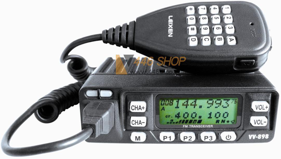 Leixen Leixen Vv 898 Fcc Dual Band Mobile Radio 10w