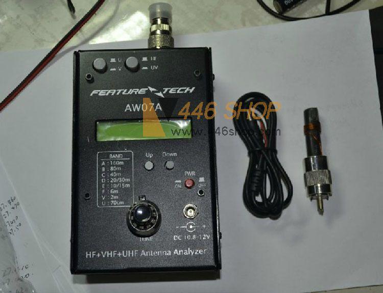 YAESU AW07A Antenna Analyzer HF VHF UHF Impedance SWR Antenna