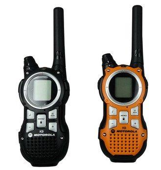 motorola handheld radio. motorola tlkr k9 twin pack uhf two way radio handheld