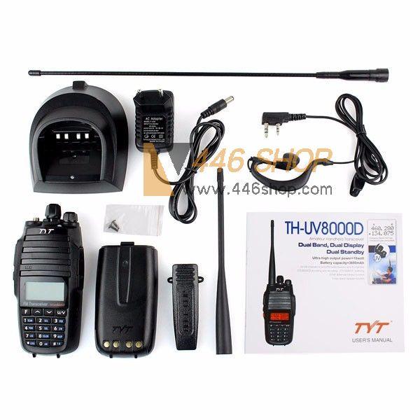 Tyt th-uv8000d инструкция на русском