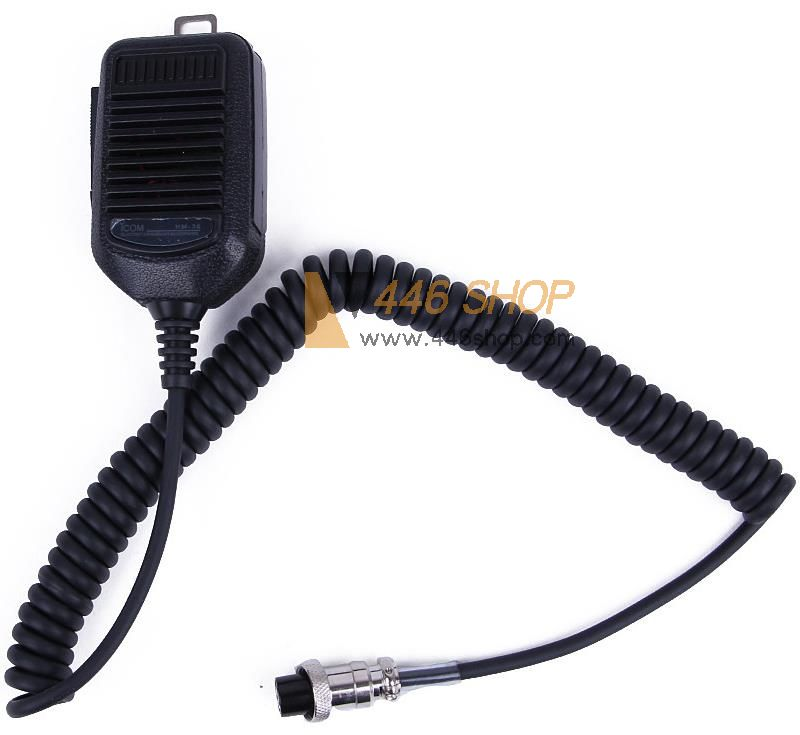 ICOM Hand Mic Microphone 8Pin for ICOM HM36 HM-36 IC-718 IC-775 IC