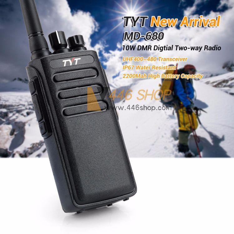 TYT TYT MD-680 DMR IP67 Waterproof Handheld Digital Walkie