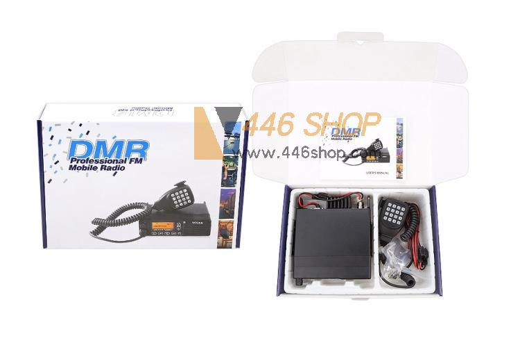 MYT DM-8000 Digital Mobile Radio DMR Transceiver 50W UHF VHF