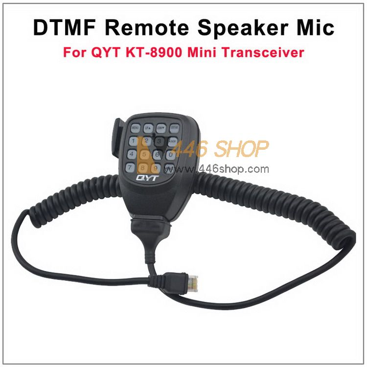 QYT 8 Pin DTMF Remote Speaker Microphone for QYT KT-8900 Mini Mobile