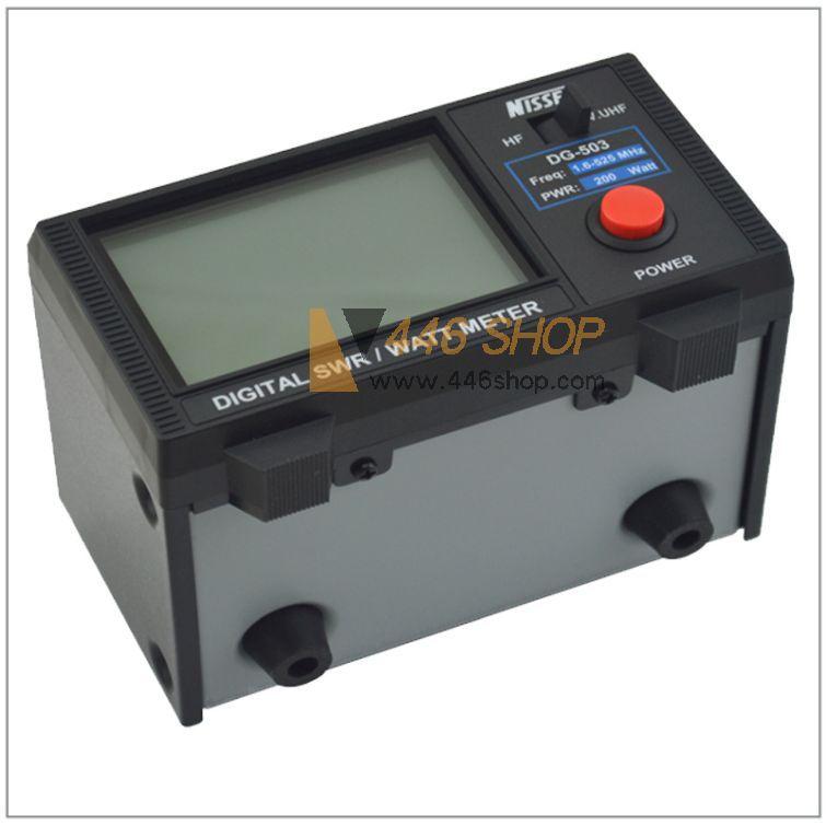 Watt Meter Price List: NISSEI Nissei DG-503 Digital SWR & Watt Meter 1.6-60MHz