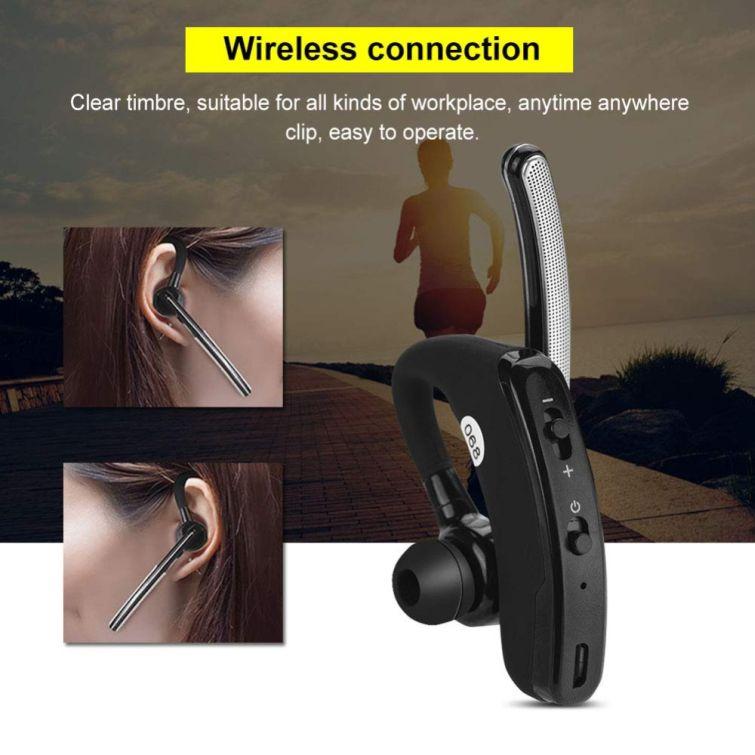 Kenwood Wireless Bluetooth Headset With Ptt Speaker Mic